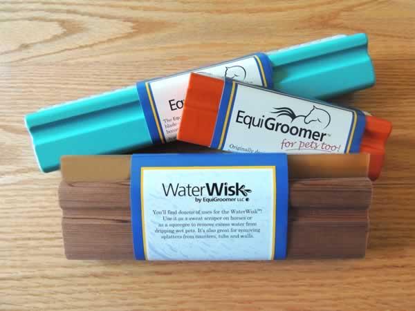 3-piece EquiGroomer/WaterWisk Set