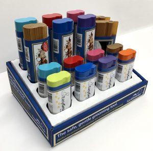 Display of EquiGroomer Grooming Tools