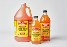 Bottles of Organic Apple Cider Vinegar